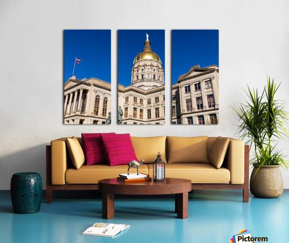 Georgia State Capitol Building   Atlanta GA 7220 Split Canvas print