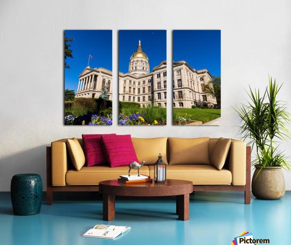 Georgia State Capitol Building   Atlanta GA 7236 Split Canvas print