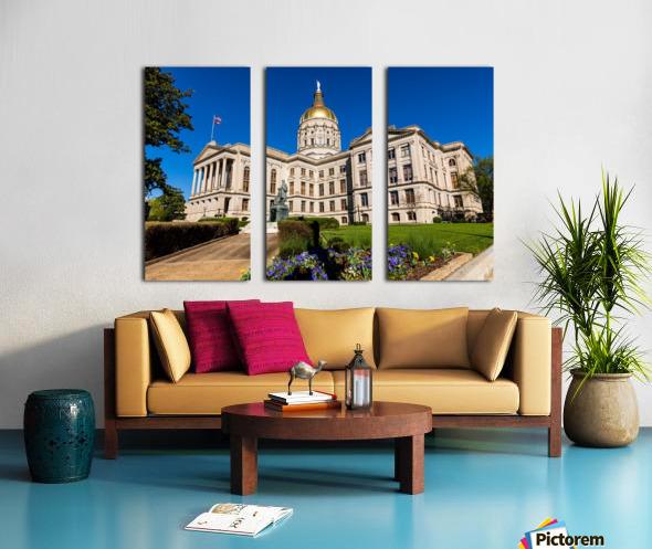 Georgia State Capitol Building   Atlanta GA 7215 Split Canvas print