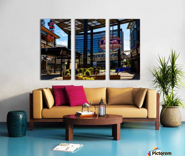 Truist Park   The Battery Atlanta GA 6741 Split Canvas print
