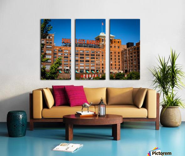 Ponce City Market   Atlanta GA 7045 Split Canvas print