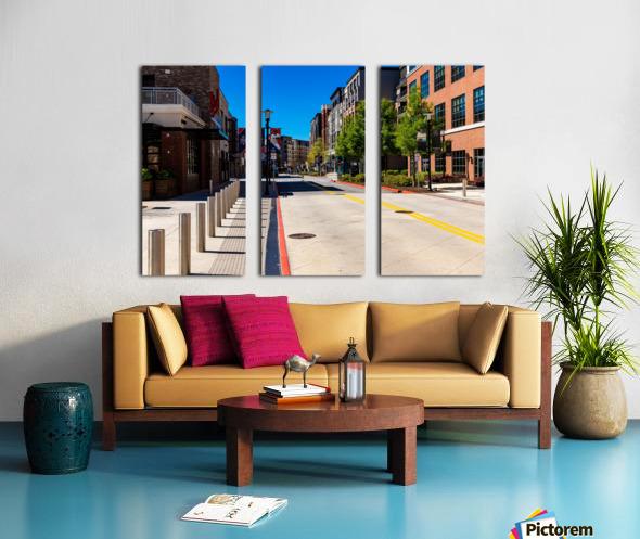 Truist Park   The Battery Atlanta GA 6769 Split Canvas print