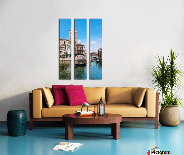 The Palazzo Labia, Venice Split Canvas print