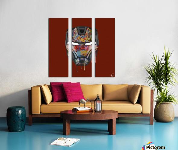 Iron Man Split Canvas print