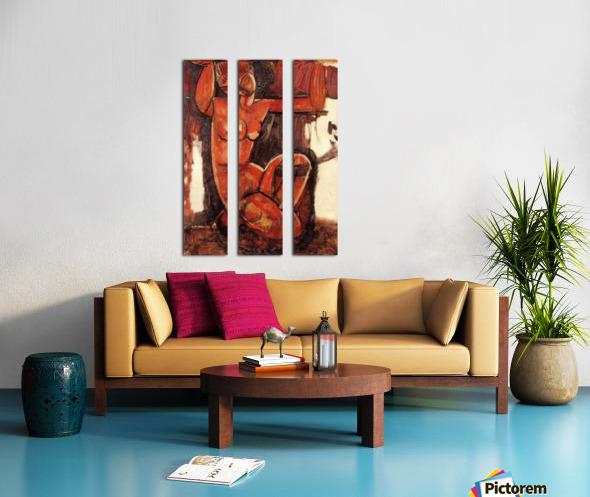Modigliani - Caryatid -5- Split Canvas print