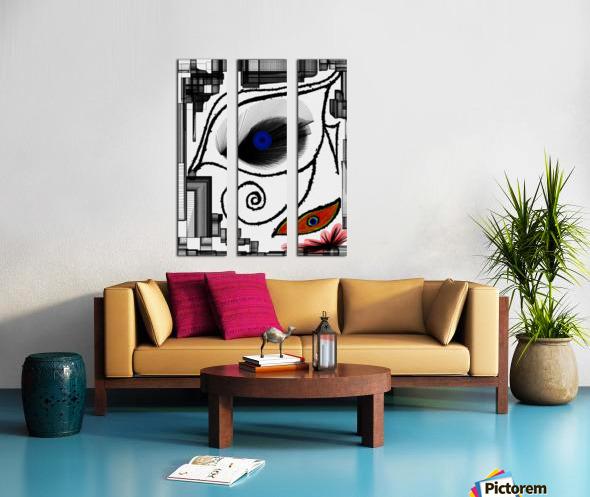 The Eye Split Canvas print