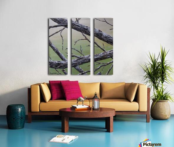 Branches Squared Split Canvas print