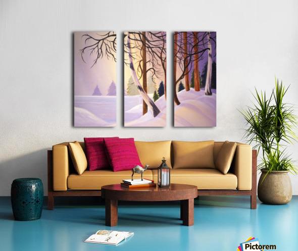 Tanglewood.1 Split Canvas print