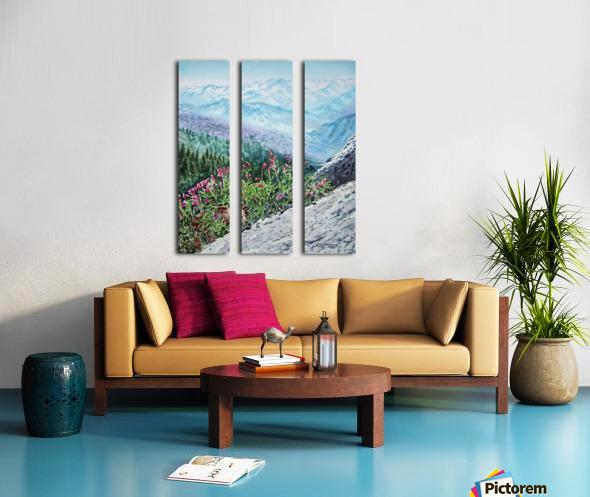 Mountains Of Sequoia  Split Canvas print