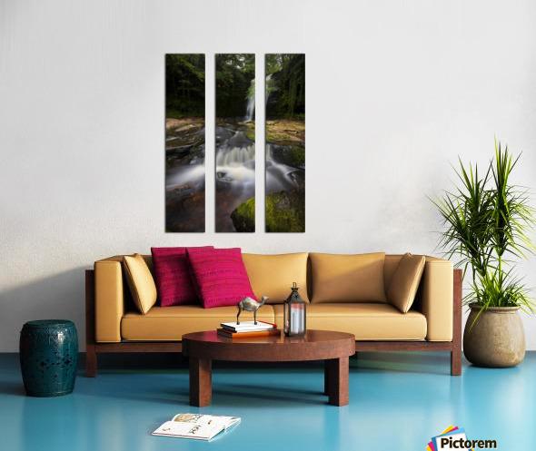 Blaen y Glyn waterfalls Split Canvas print