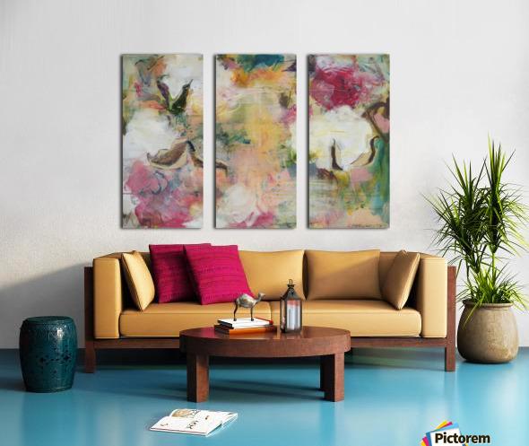 August Indian Cotton ii Split Canvas print
