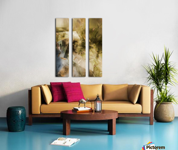 Sweet Grass   Split Canvas print