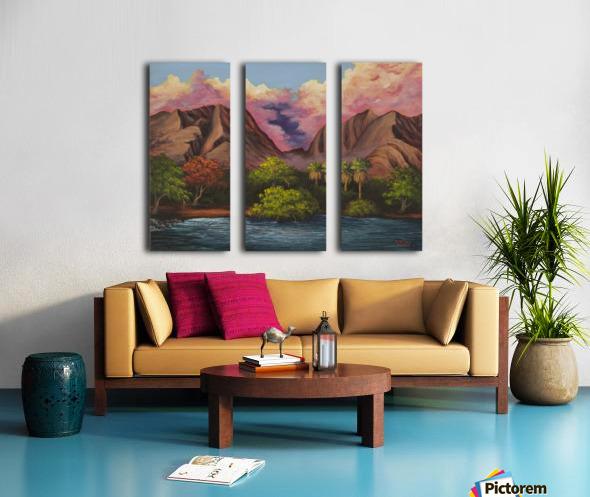 Olowalu Split Canvas print