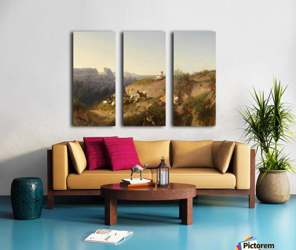 The sheppardes Split Canvas print