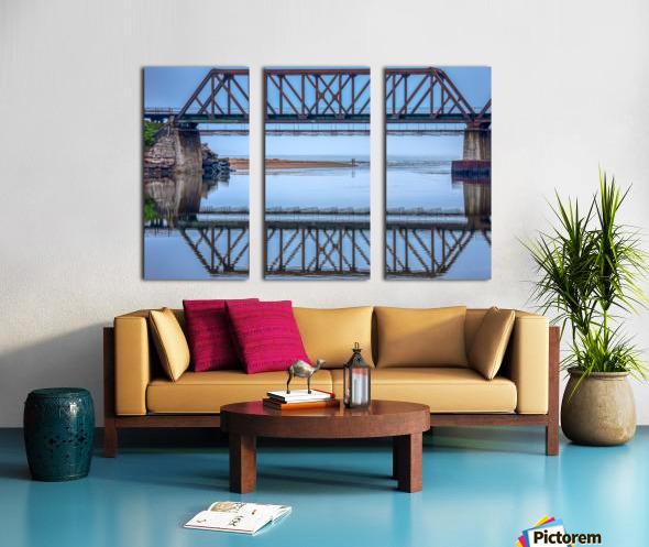 Vision double Split Canvas print