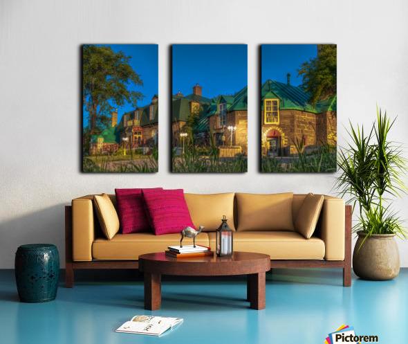 Maison William Wakeham Split Canvas print