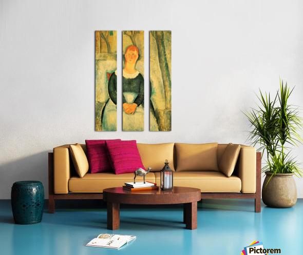 Modigliani - The beautiful merchant Split Canvas print