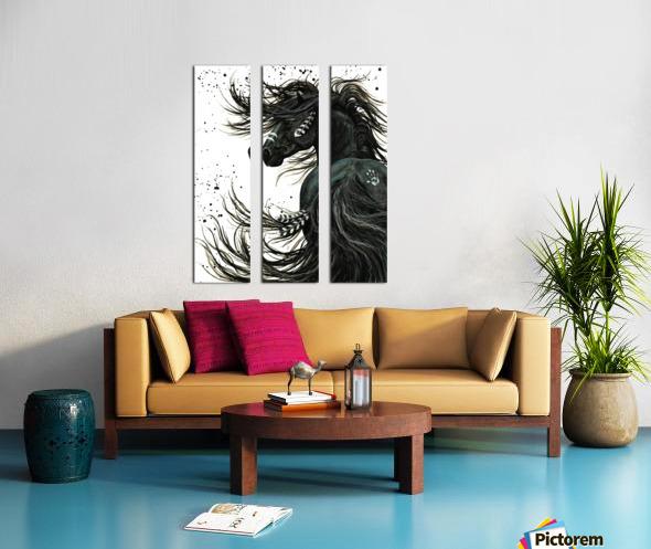 Spirit Horse  Split Canvas print