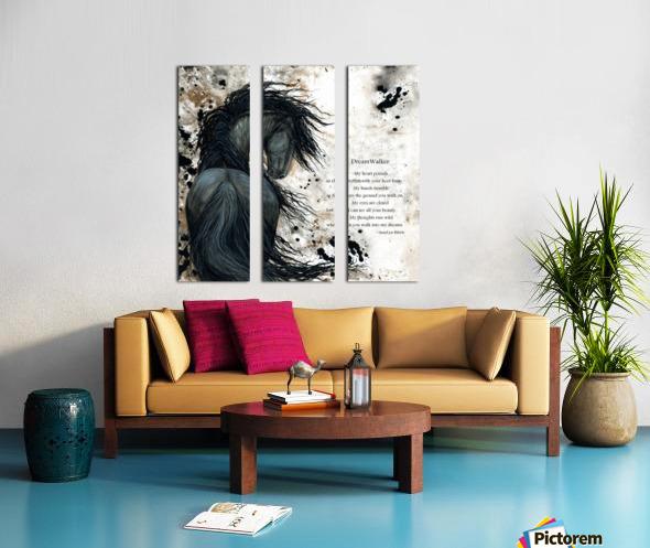 DreamWalker Dream Horse  Split Canvas print