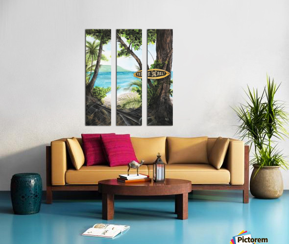 Collection COSTA RICA-Matapalo Toile Multi-Panneaux