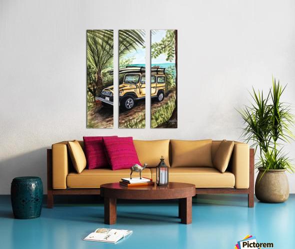 Collection COSTA RICA-Jeep Toile Multi-Panneaux