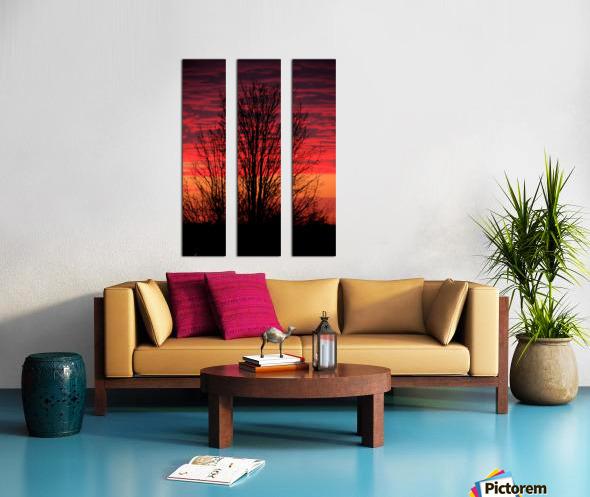 Liberty Missouri Sunset  Split Canvas print
