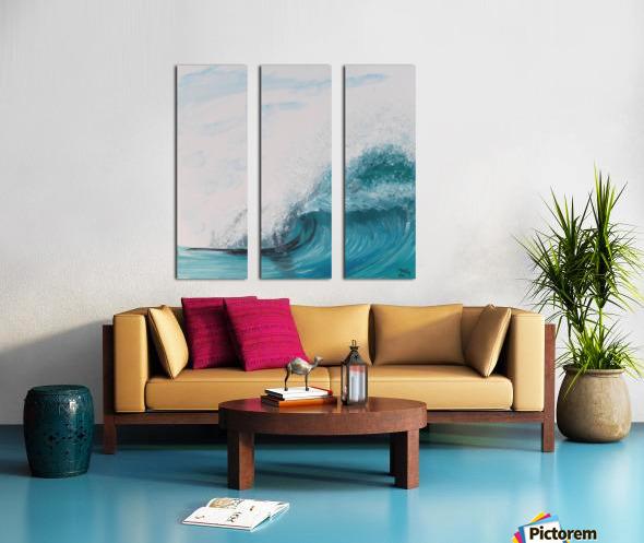 Collection WAVES-Barrel Toile Multi-Panneaux