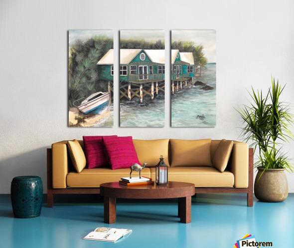 Collection BERMUDA- Stilt house Toile Multi-Panneaux