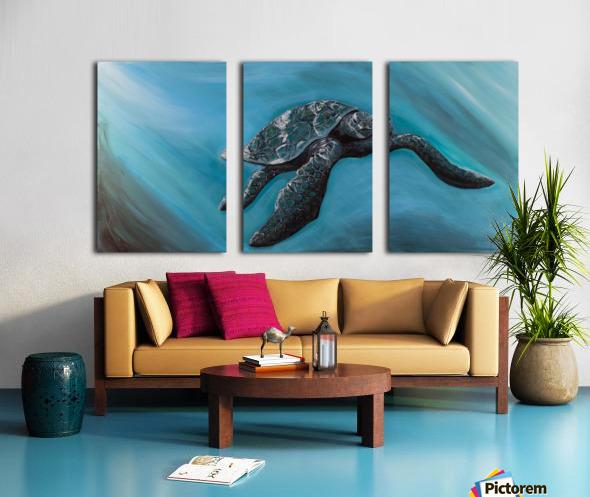 Collection WAVES-Turtle Toile Multi-Panneaux