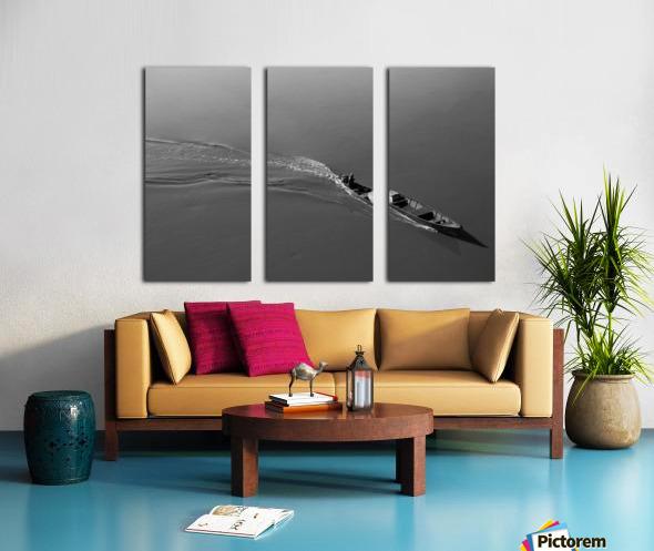 Boat Split Canvas print