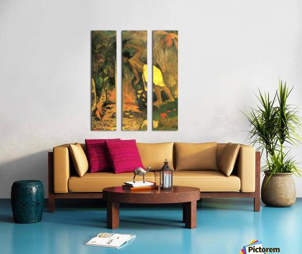 Mysterious Source by Gauguin Split Canvas print
