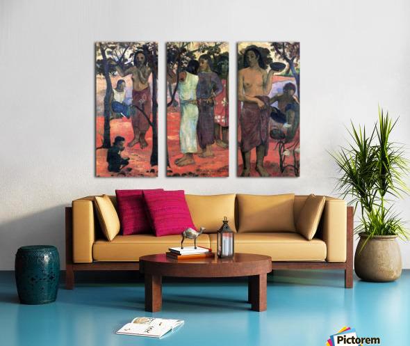 Nava Nava Mehana by Gauguin Split Canvas print