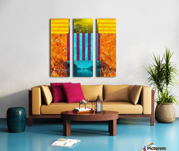 Habitat Split Canvas print