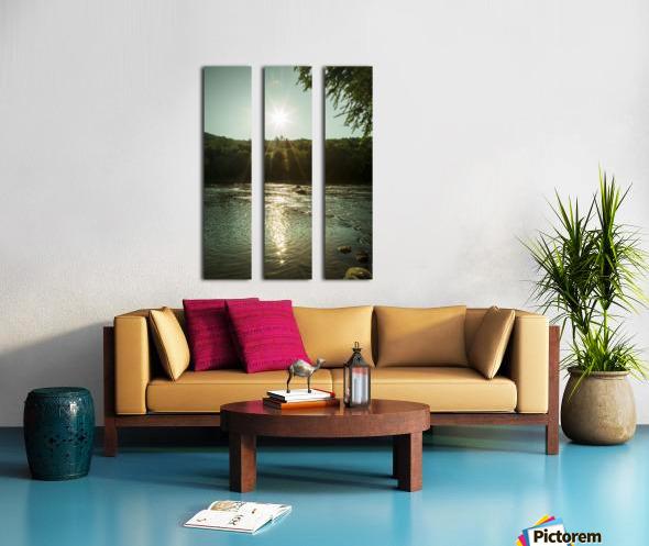 Sunlight Split Canvas print