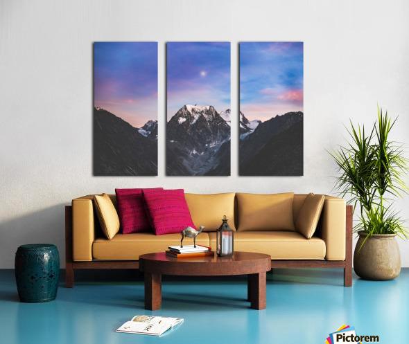Shine on Split Canvas print