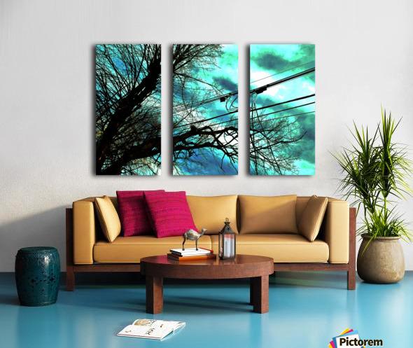 FIELDING 2 Split Canvas print