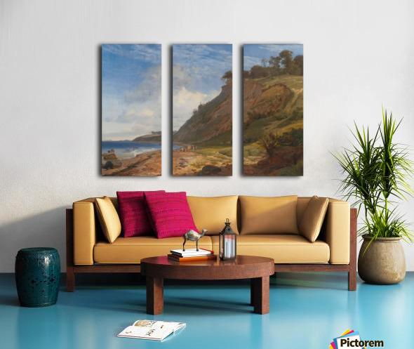 A Danish Coast Split Canvas print