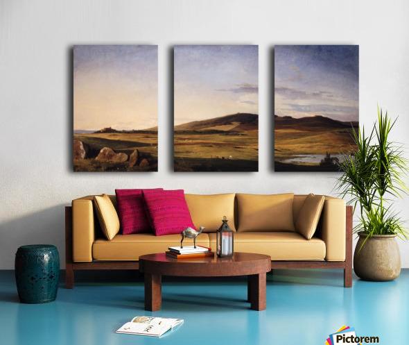 Zealand Landscape Split Canvas print