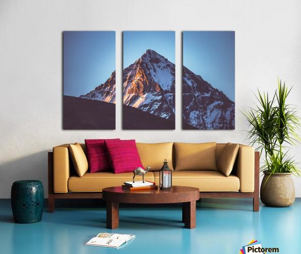 First sunlight Split Canvas print