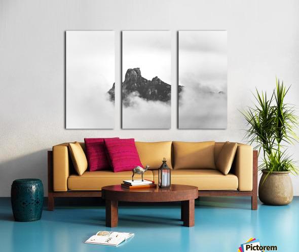 Sleeping golem Split Canvas print