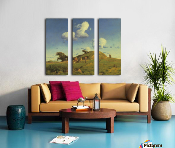 Hankehoj Split Canvas print