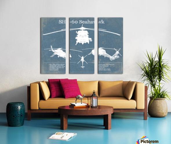 seahawk Split Canvas print