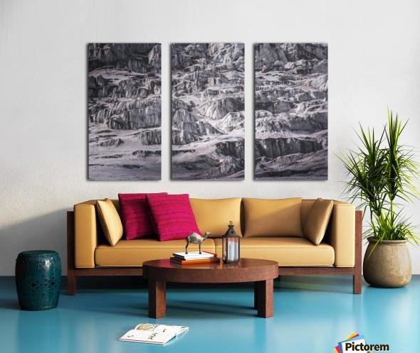 Cold Split Canvas print