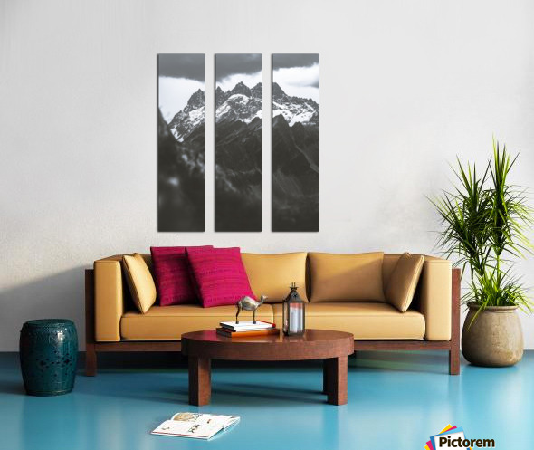 Three Split Canvas print