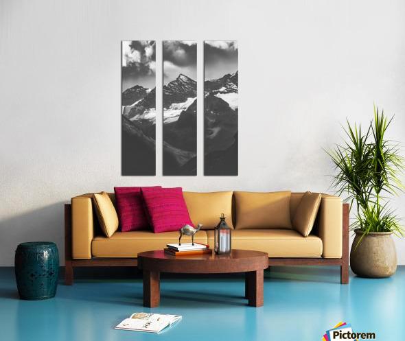 Cross Split Canvas print