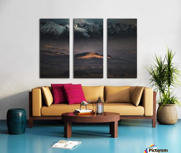 Tatry Split Canvas print