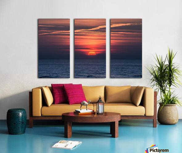 Sea lamp Split Canvas print