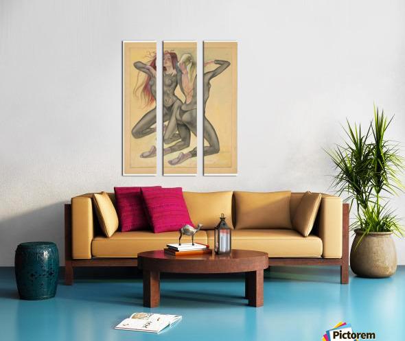 0112 Split Canvas print
