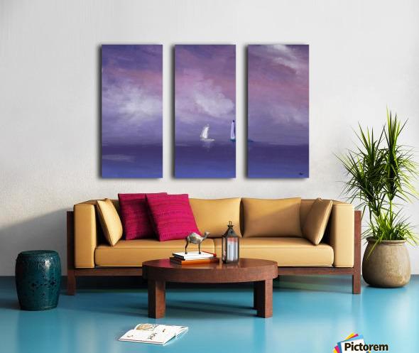 0253 Split Canvas print
