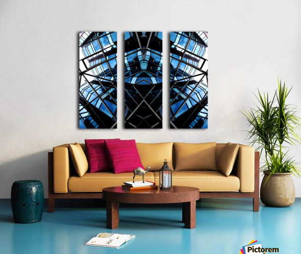 STEALTH Split Canvas print
